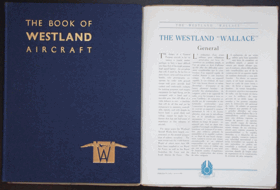 THE BOOK OF WESTLAND AIRCRAFT