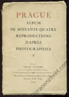Prague. Album de 64 reproductions d'après photographies.