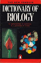 The new Penguin dictionary of biology
