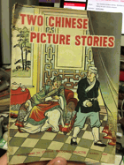 Two Chinese picture stories. Skinflint Chou a folk tals and Wang lac-san Learns a lesson