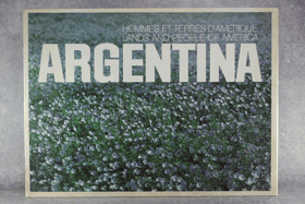 Argentina. Lands and people of America. Hommes et terres d´Amerique VČ. KARTONU