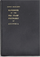 Handbook of the pre-stamp postmarks of Austria