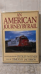 An American Journey by Rail NO COVER!!