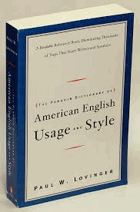 American Usage and Style