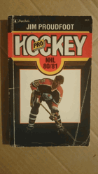 Pro Hockey NHL 80/81 SIGNED PROUDFOOT!!!
