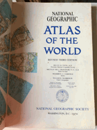 Atlas of the world National Geographic