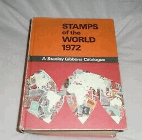 Stanley Gibbons Stamps of the World Catalogue 1972